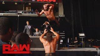 Seth Rollins vs. Rusev: Raw, Sept. 19, 2016