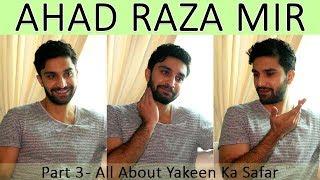 Ahad Raza Mir mimics Sajal Ali & Mawra Hocane | Yakeen Ka Safar | Dr Asfand | 3/4 | Orange Wall TV