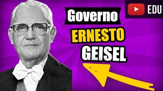 Ditadura Militar no Brasil: Governo Ernesto Geisel - Vídeo Aula 11