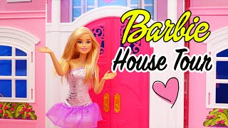 Barbie Toys Dollhouse Tour! - Kid-friendly Review of Barbie Life in the Dreamhouse Mansion
