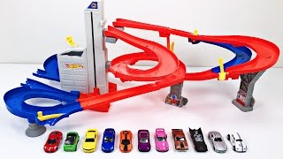 Best Toddler Learning Colors Hot Wheels Cars Trucks for Kids #1 Teaching Colours Hot Wheels Track