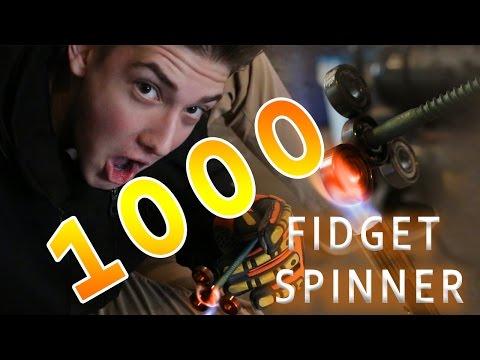 1000 DEGREE FIDGET SPINNER VS. EVERYTHING