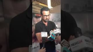 Ronit Roy interaction with media at the premiere of #DongriKaRaja in Mumbai.