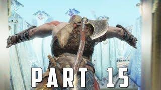 GOD OF WAR Walkthrough Gameplay Part 15 - LIGHT ELVES (God of War 4)