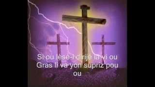 Si Christ Pat Avek Mwen, Haitian Church Music, Worship Songs, mwen gen yon zanmi, Jesus