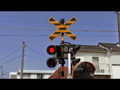 東武電車 第143号 踏切動画
