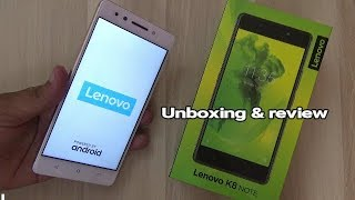 Lenovo K8 Note Unboxing & Full Review !! HINDI