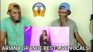 Ariana Grande Best Live Vocals (REACTION)