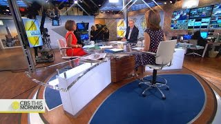 Behind the scenes at CBS This Morning: A 180-degree live stream