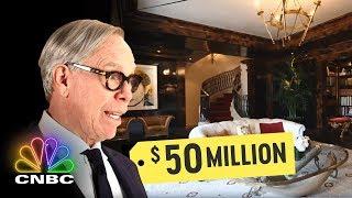 Go Inside Tommy Hilfiger's $50 Million Penthouse | Secret Lives Of The Super Rich | CNBC Prime