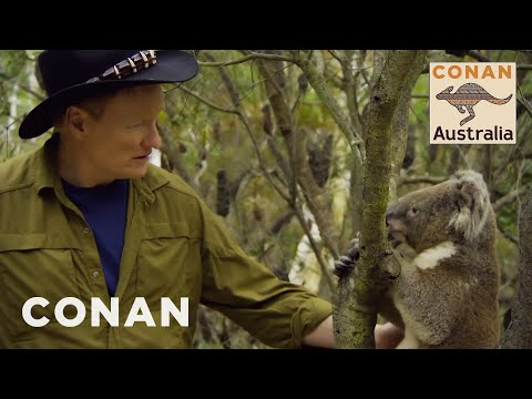 Conan Encounters Australian Wildlife CONAN on TBS