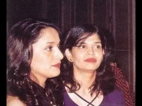 Madhuri Dixit with her Sisters Bharati and Rupa  Rare Pictures