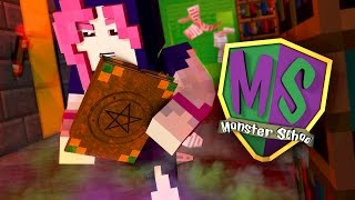 Minecraft Monster School - THE NEW GIRL STUDENT HAS A SECRET!