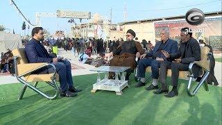 تغطية خاصة حول زيارة أربعينية الإمام الحسين (ع) والمسير إلى كربلاء المقدسة مشياً على الأقدام - ج٣