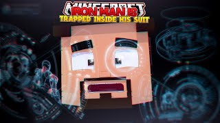 IRON MAN IS TRAPPED INSIDE HIS SUIT - MINECRAFT ADVENTURE