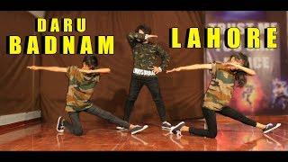 Daru Badnam VS Lahore Dance | Vicky Patel Choreography | Easy Bollywood Hip Hop