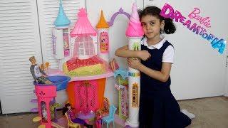 مفاجآة بنتي ببيت باربي الجديد! ألعاب بنات Barbie Dreamtopia Sweetville Castle