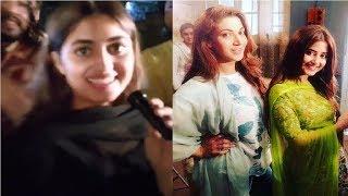 Funny Video of Sajal Ali for 'O Rangreza'