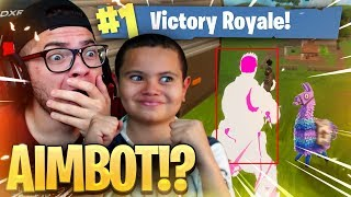9 YEAR OLD KID IS A HACKER AND MUST BE STOPPED! *NEW SKIN IS WILD! FORTNITE BATTLE ROYALE CRAZY GAME