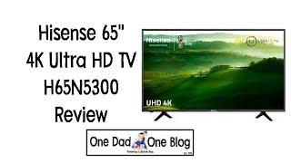 """Hisense 65"""" 4K Ultra HD TV H65N5300 Review"""