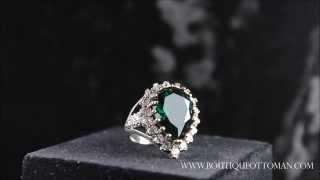 خاتم حريم السلطان Sultana Huyam Ring ( خاتم هويام )