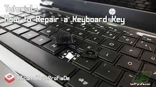How to Fix Replace Keyboard Keys Tutorial Installation HP Pavilion Sleekbook 15