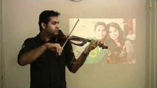 Jaane Tu Ya Jaane Na - Kahin To Hogi wo- Violin Instrumental