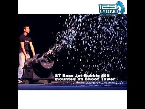 bubble machine Såpebobblemaskin proff for store events eller filmproduksjon