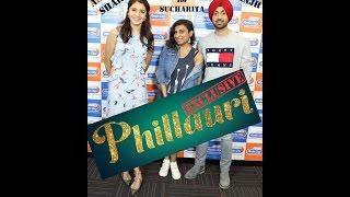 Diljit Dosanjh & Anushka Sharma with RJ Sucharita for Phillauri at Radio City 91.1 FM