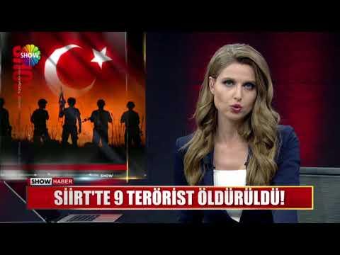 Siirt'te 9 terörist öldürüldü!