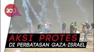 Gaza Membara, 1 Warga Palestina Tewas DItembak Israel