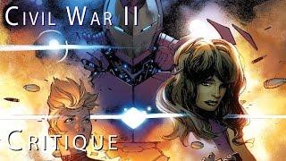 CIVIL WAR II : Présentation et avis sur la suite du comics MARVEL