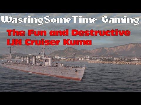 Xxx Mp4 Kuma IJN Cruiser With 4 Destroyed World Of Warships 3gp Sex