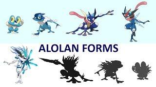 Alolan Forms Greninja Evolution - Ice / Fairy - Happy New Year 2019.