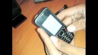 Nokia 2700c nokia logo then white screen