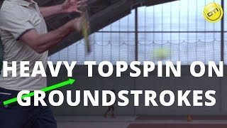 Tennis Topspin: How Anybody Can Hit With Topspin