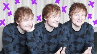 Ed Sheeran on the ex-girlfriend who wrote an album about him and new album 'Multiply'
