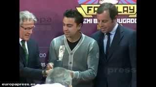 Xavi Hernández and nùria