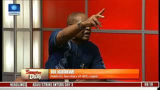 The #ResumeOrResign Protest Is Against The Law - Joe Igbokwe   Sunrise Daily  