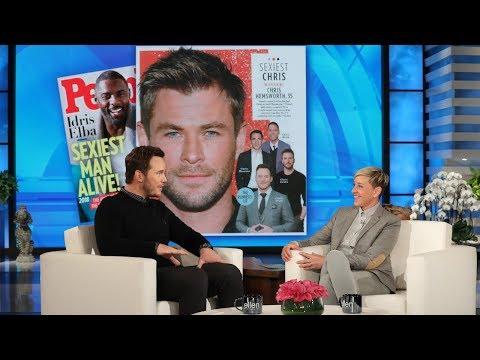 Xxx Mp4 Chris Hemsworth Has Chris Pratt S Vote For Sexiest Chris 3gp Sex