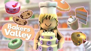 Making THE UGLIEST Cakes! Customers HATE ME! Roblox Bakers Valley