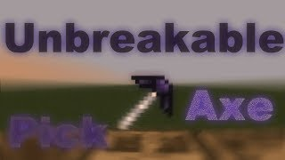 Tinkers Construct   Unbreakable Pickaxe