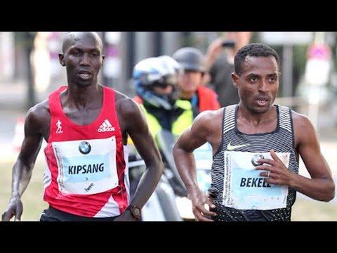 Xxx Mp4 Kenenisa Bekele Vs Wilson Kipsang Incredible Duel At BMW Berlin Marathon 2016 3gp Sex