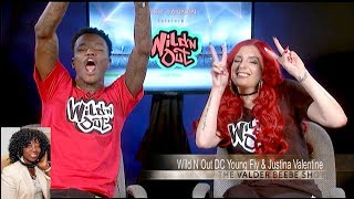 MTV Nick Cannon Presents: Wild N' Out DC Young Fly & Justina Valentine
