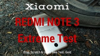 [Hindi - हिन्दी] Xiaomi Redmi Note 3 Extreme Scratch and Drop Test-Will it Survive?