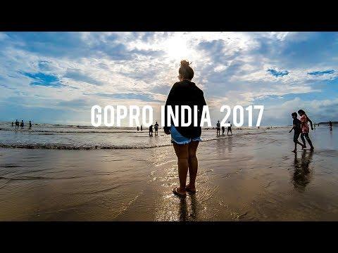 Beach Girl 😘 GoPro Hero 5 India 💖 GoPro Vacation 2017 🌴