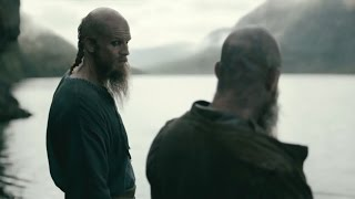 Vikings Season 4 Episode 11  Ragnar and Flokis Emotional Moment