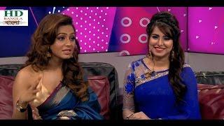 Nusrat Fariya Attend Exclusive TV Program At Ekattor TV  Eid Anandojog