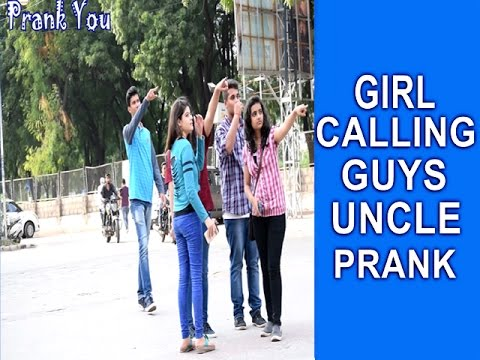 Cute Girl Calls Uncle prank by prank you