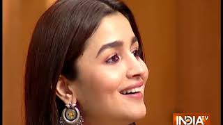 My father was quite conscious about boys whom I used to meet: Alia Bhatt in Aap Ki Adalat